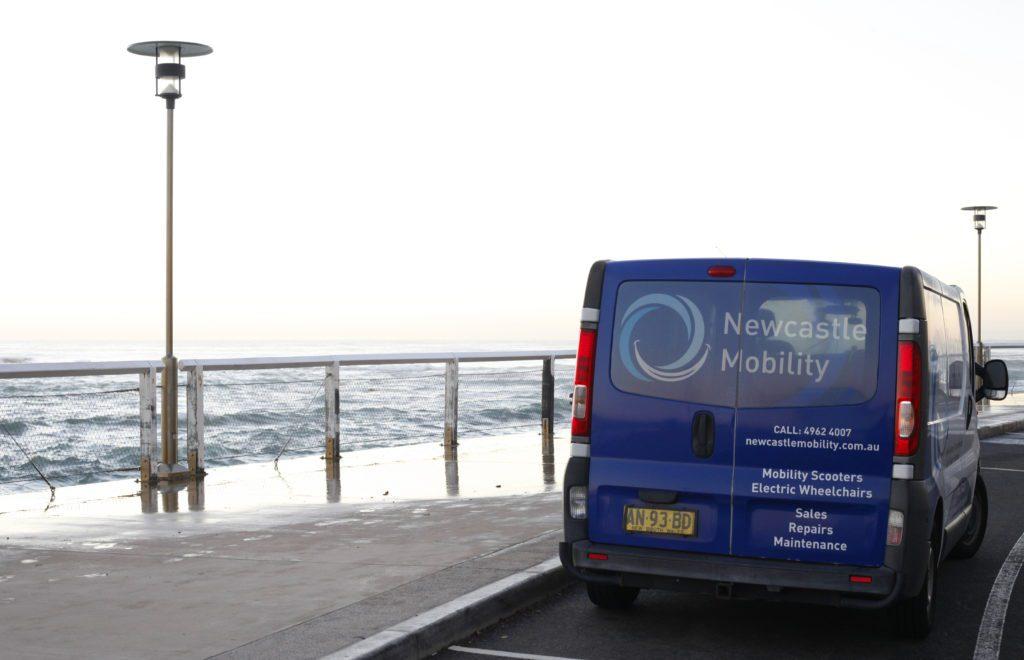 Newcastle Mobility Van